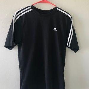 Black & White Adidas T-Shirt